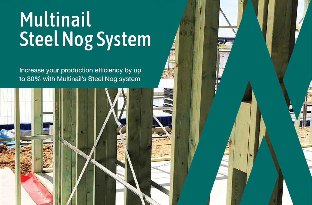 Multinail Steel Nog System